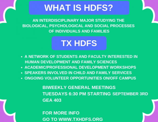TX HDFS first meeting Fall 2019