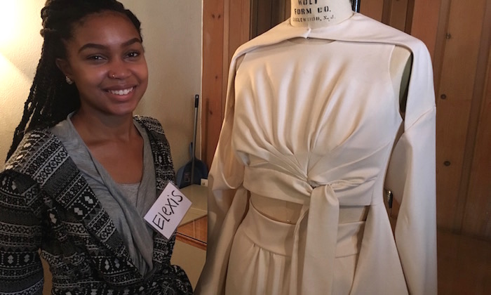 Students Draw from Airplanes to Crinoles to Create Fashion