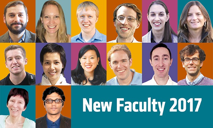Welcoming New Faculty